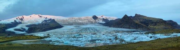 Fjallsarlon Glacial Lagoon Royalty Free Stock Photo