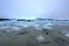 Fjallsarlon Glacial Lake Stock Photos