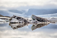 Fjallsarlon Glacier Lagoon, Iceland Stock Image