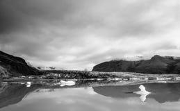 Fjallsarlon glacier lagoon Royalty Free Stock Images