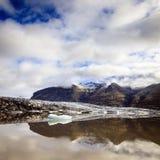 Fjallsarlon-Gletscherlagune Stockfotografie