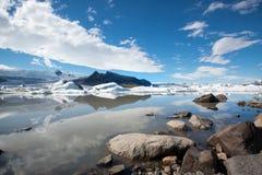 Fjallsarlon-Iceland Stock Images