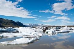 Fjallsarlon-Iceland Royalty Free Stock Photo
