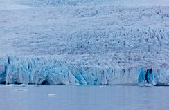 Fjallsjokull glacier, Iceland Royalty Free Stock Photography