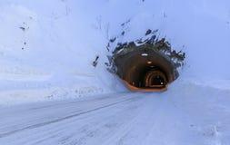 Fjellsend-tunnel Royalty Free Stock Photos