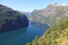 fjord Royaltyfri Fotografi