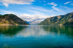 Fjord Stock Photo