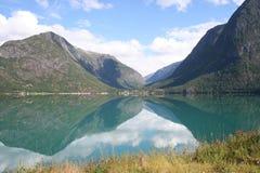 Fjord Fotografering för Bildbyråer