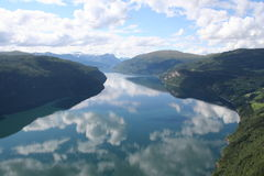 Fjord Royaltyfri Bild