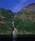 fjord Royalty-vrije Stock Fotografie