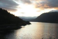 fjord stock foto