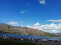 1 fjord royaltyfri foto