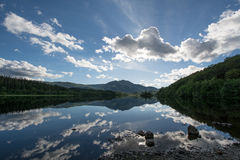 Fjord Achray Arkivbilder