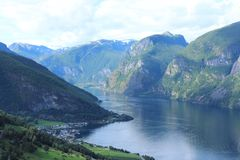 Fjord royalty free stock images