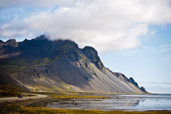 Fjord, Berufjoerdur, Iceland Royalty Free Stock Photography