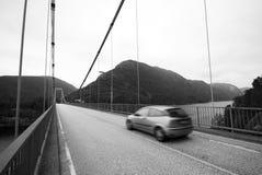 Fjord bridge Royalty Free Stock Image