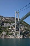 Fjord Bridge Royalty Free Stock Photo