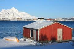 fjord buda Zdjęcia Royalty Free