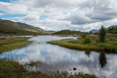 Fjord Cluanie Arkivfoto