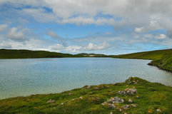 Fjord Corispol arkivfoton