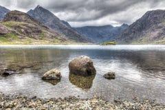 Fjord Coruisk Royaltyfri Foto