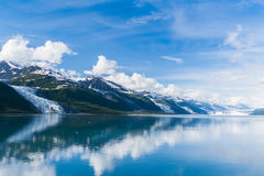 Fjord d'université, Alaska Photos libres de droits