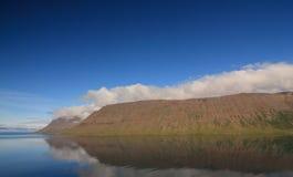 Fjord de Arnars, Arnarfjordur Fotografia de Stock Royalty Free