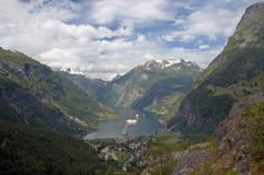 Fjord de Geiranger Image stock