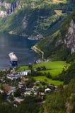Fjord de Geiranger Photo libre de droits