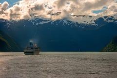Fjord de Geiranger, Noruega fotografia de stock