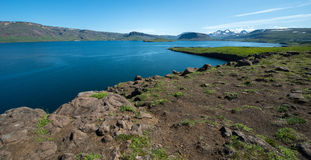 Fjord de Hvalfjordur, Islande Photos libres de droits