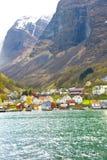 Fjord de la Norvège Photographie stock libre de droits