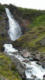 Fjord 2016 de la Norvège Uloybukta Photographie stock