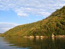 Fjord de Lim - Croatie Photo stock
