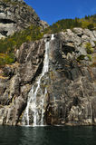 Fjord de Norvegian Photographie stock