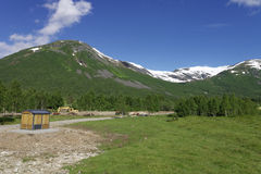Fjord de Norvegian Images libres de droits