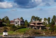 Fjord de Oslo Fotos de Stock