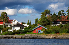 Fjord de Oslo Imagem de Stock Royalty Free