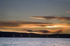 Fjord de Oslo Imagem de Stock