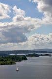 Fjord de Oslo Imagens de Stock