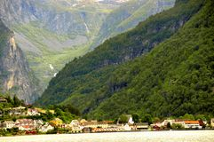 Fjord de Sognefjord photo stock