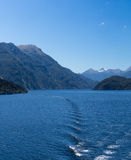 Fjord of Doubtful Sound in New Zealand Stock Photos