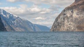 Fjord em Noruega fotos de stock