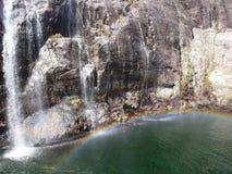 Fjord em Noruega Foto de Stock