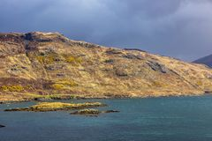 Fjord en Chairn Bhain arkivbild