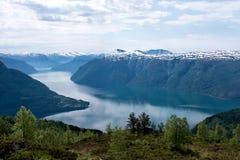 Fjord en Norvège photographie stock libre de droits
