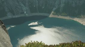 Fjord en Norvège Vue à partir du dessus clips vidéos