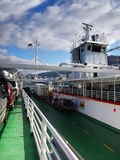 Fjord Ferry Ship Sea Norway Stock Photography