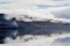 Fjord Fyne, Skottland Arkivfoto