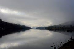 Fjord Fyne, Skottland Fotografering för Bildbyråer